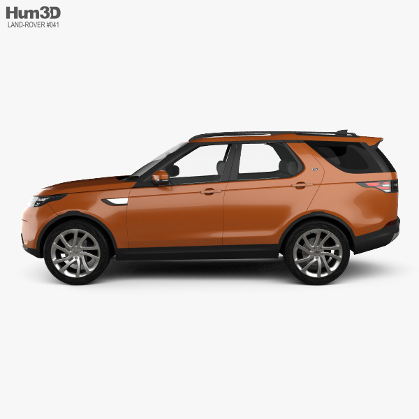 Land Rover Discovery HSE 2017 3D model