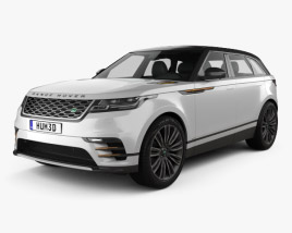 3D model of Land Rover Range Rover Velar 2018