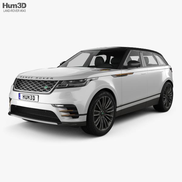Land Rover Range Rover Velar 2018 3Dモデル