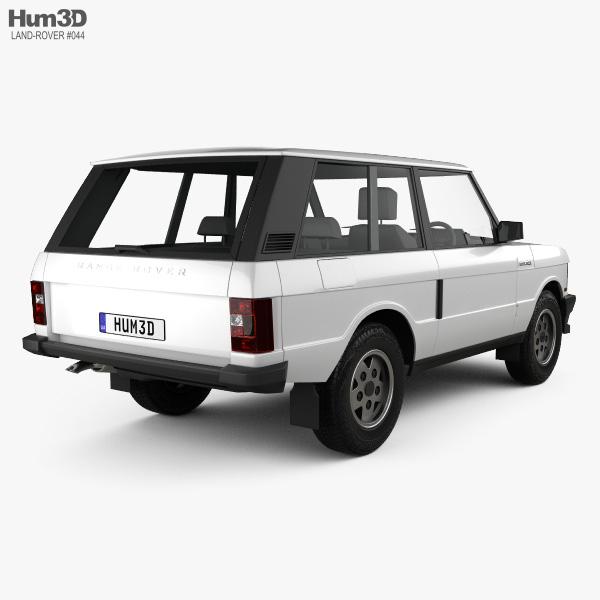 Land Rover Range Rover 3-door 1986 3D model