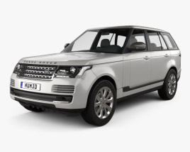 3D model of Land Rover Range Rover L405 Vogue 2014