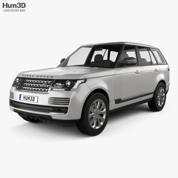 Land Rover Range Rover L405 Vogue 2014 3Dモデル