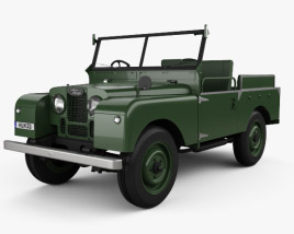 3D model of Land Rover Series I Churchill 1954
