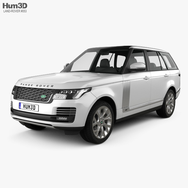 Land Rover Range Rover Autobiography 2018 3Dモデル