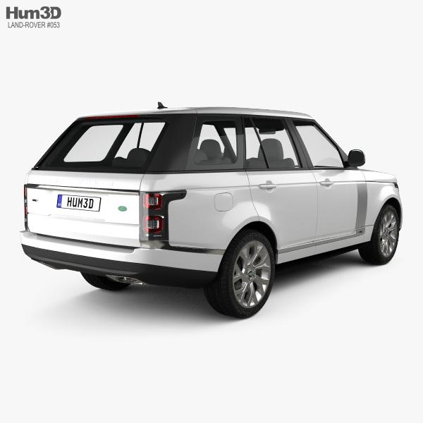 Land Rover Range Rover Autobiography 2018 3D model