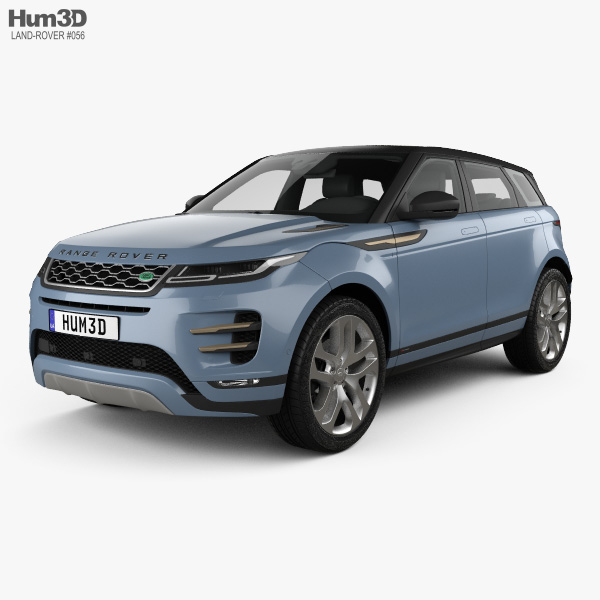 Land Rover Range Rover Evoque R-Dynamic First Edition 2019 3Dモデル