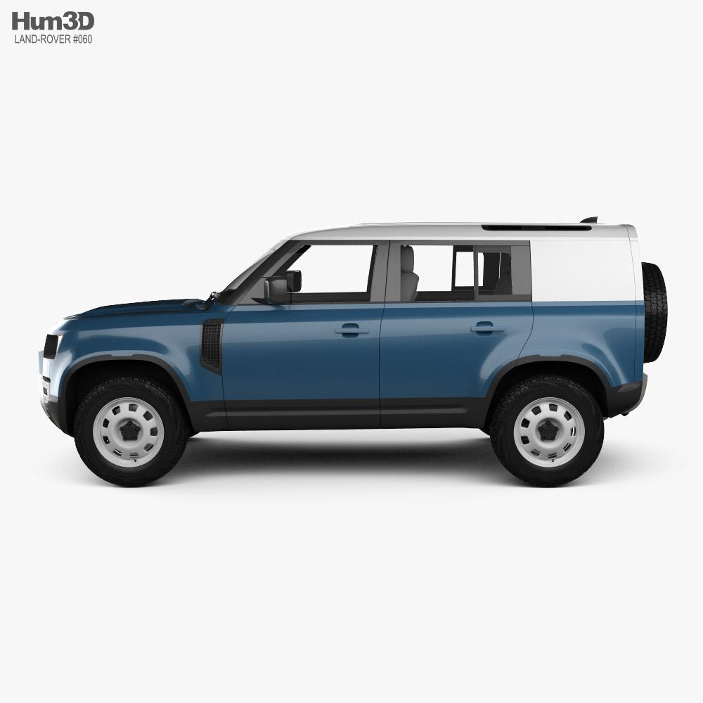 Land Rover Defender 110 HardTop 2020 3D model