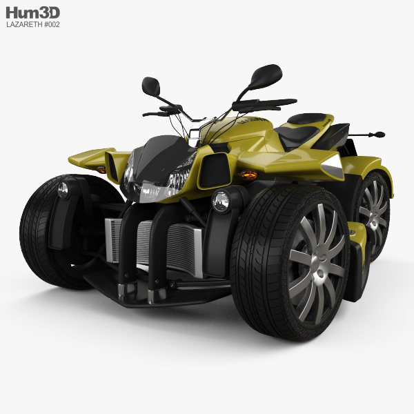 Lazareth Wazuma R1 2013 3D model