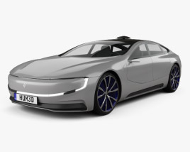 3D model of LeEco LeSee 2017