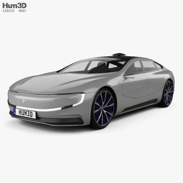 LeEco LeSee 2017 3D model