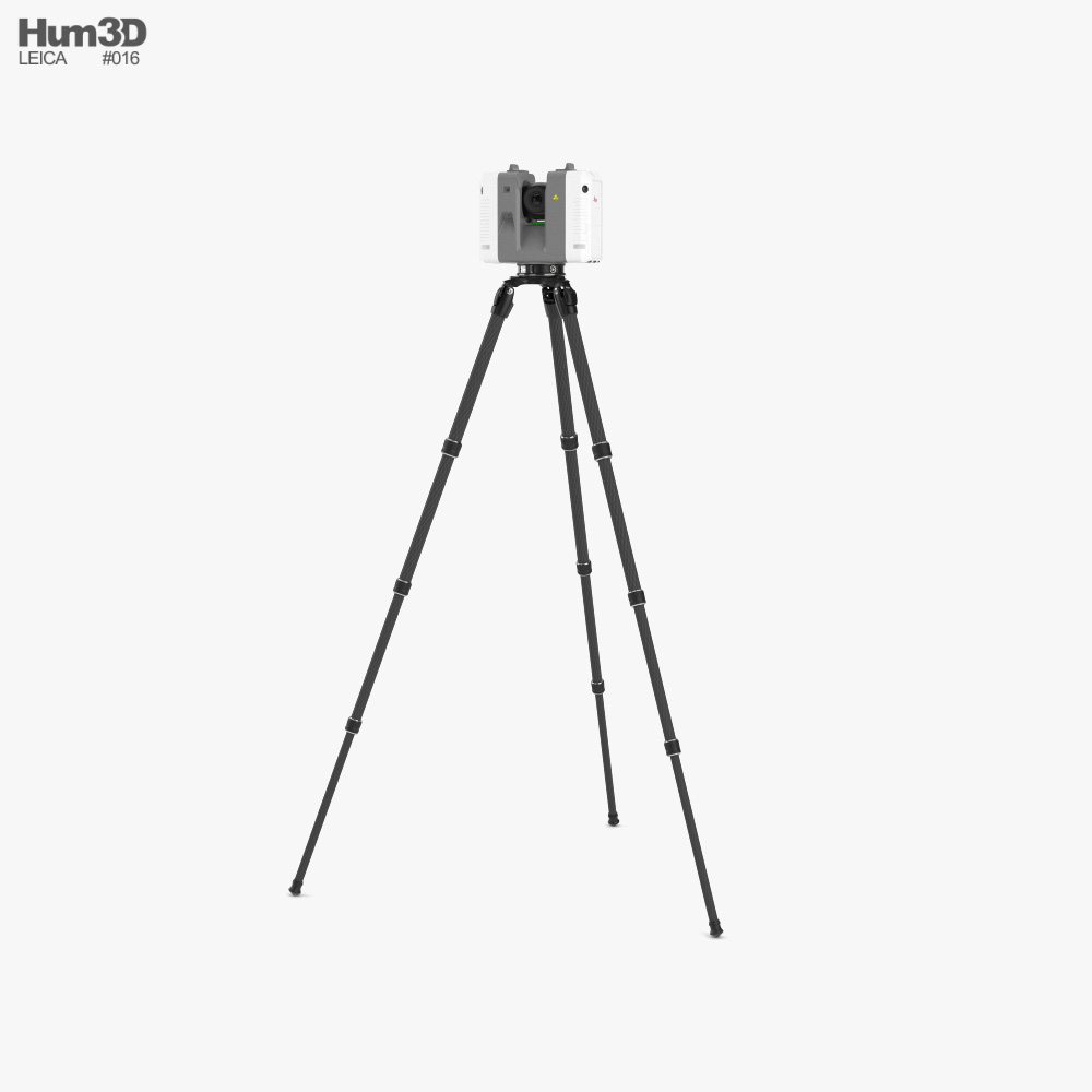 Leica RTC360 Laser Scanner Kit 3D model
