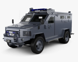 3D model of Lenco BearCat 2005