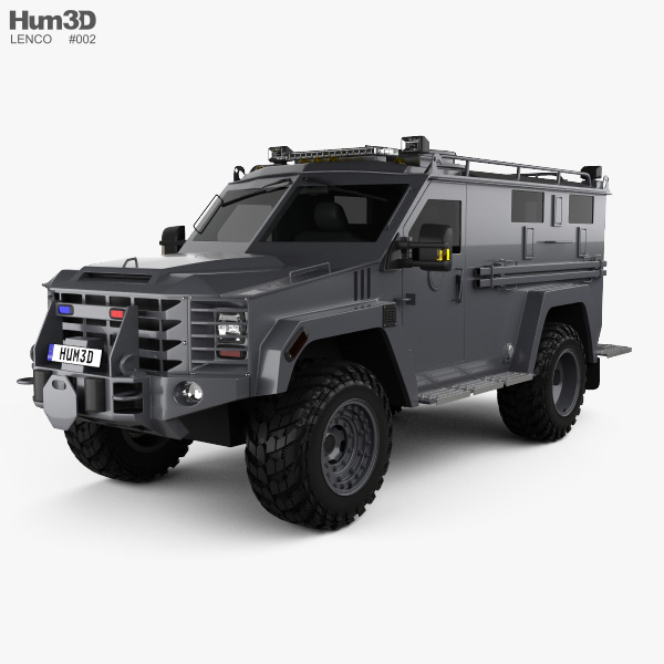 3D model of Lenco BearCat G3 2017