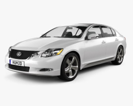 Lexus GS (S190) 2010 3D model