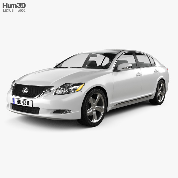 Lexus GS (S190) 2010 3D model
