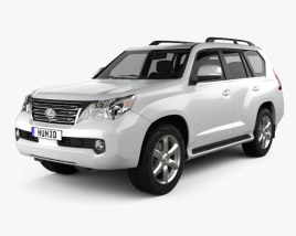 3D model of Lexus GX 460 2010