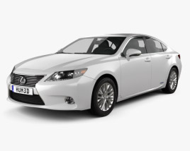 3D model of Lexus ES hybrid (XV50) 2013