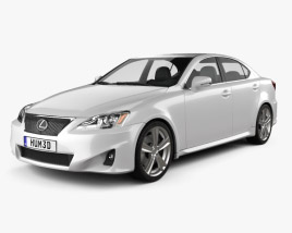 3D model of Lexus IS (XE20) 2012