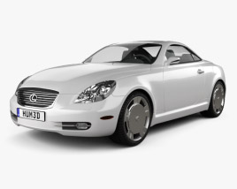 3D model of Lexus SC (Z40) 2007