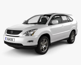 3D model of Lexus RX (XU30) 2009