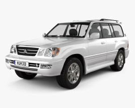 3D model of Lexus LX 2003
