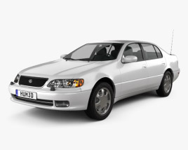 3D model of Lexus GS (S140) 1996