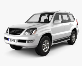 3D model of Lexus GX (J120) 2009
