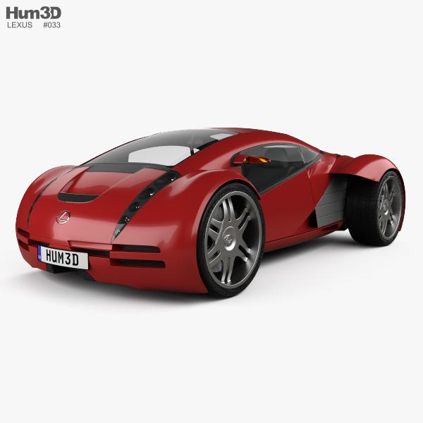 Lexus 2054 2002 3D model