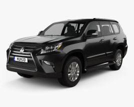 3D model of Lexus GX (J150) 2014