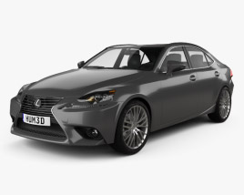 3D model of Lexus IS (XE30) 2013