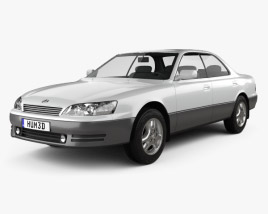 3D model of Lexus ES 1992