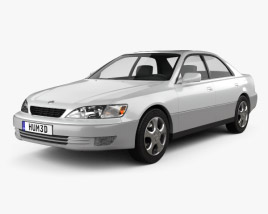 3D model of Lexus ES 1997