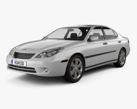 3D model of Lexus ES 2004