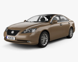 3D model of Lexus ES 2009