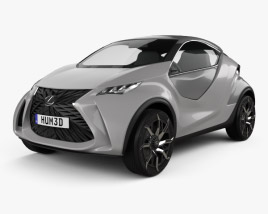 3D model of Lexus LF SA 2015