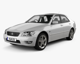 3D model of Lexus IS (XE10) 2001