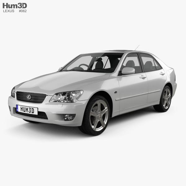 Lexus IS (XE10) 2001 3D model