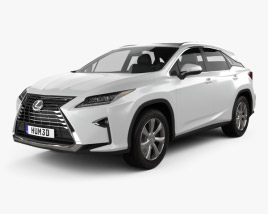 3D model of Lexus RX 350 2016