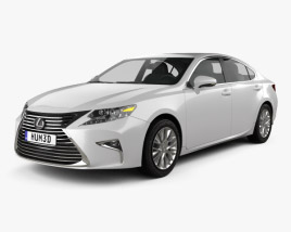 3D model of Lexus ES 2015