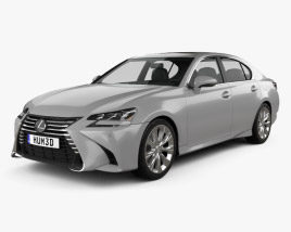 3D model of Lexus GS 350 2015