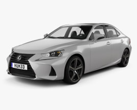 3D model of Lexus IS (XE30) 350 2016