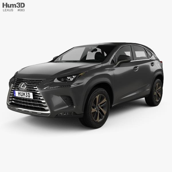 Lexus NX hybrid 2017 3D model