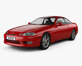 3D model of Lexus SC (Z30) 1998