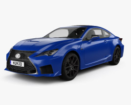 3D model of Lexus RC F 2019