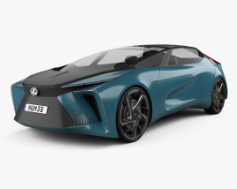 3D model of Lexus LF-30 Electrified 2019