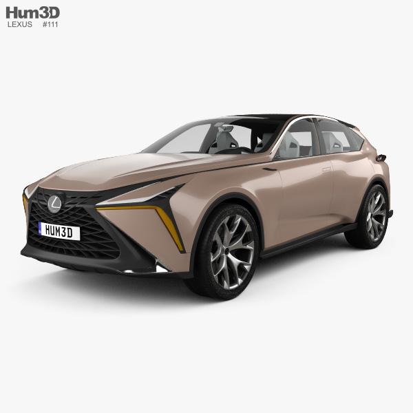 Lexus LF-1 Limitless with HQ interior 2018 3D model