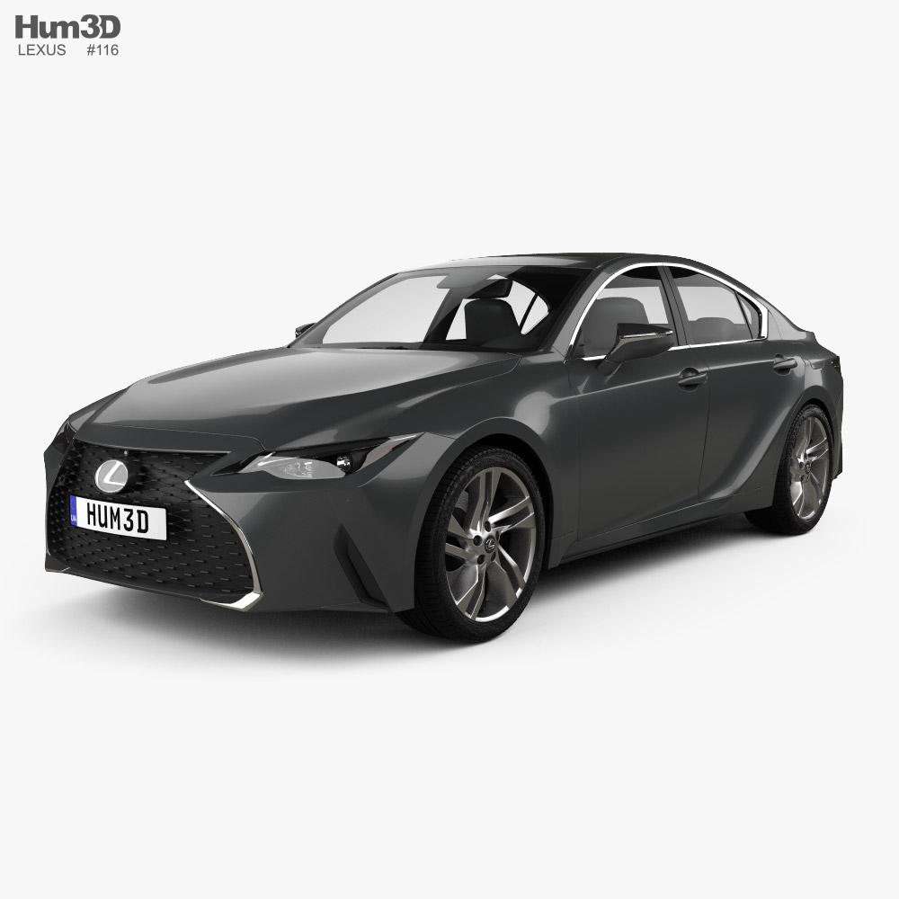 Lexus IS 2021 3D model