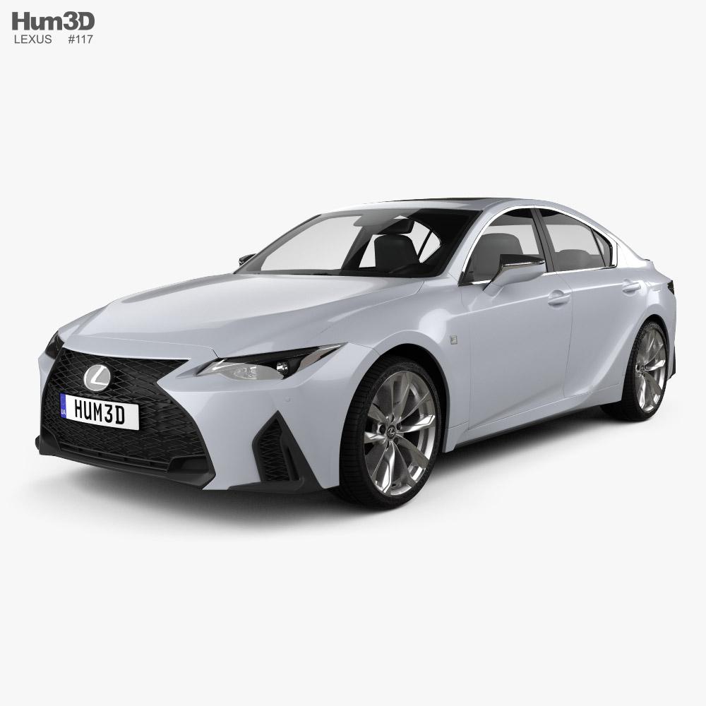 Lexus IS F Sport 2021 3D model