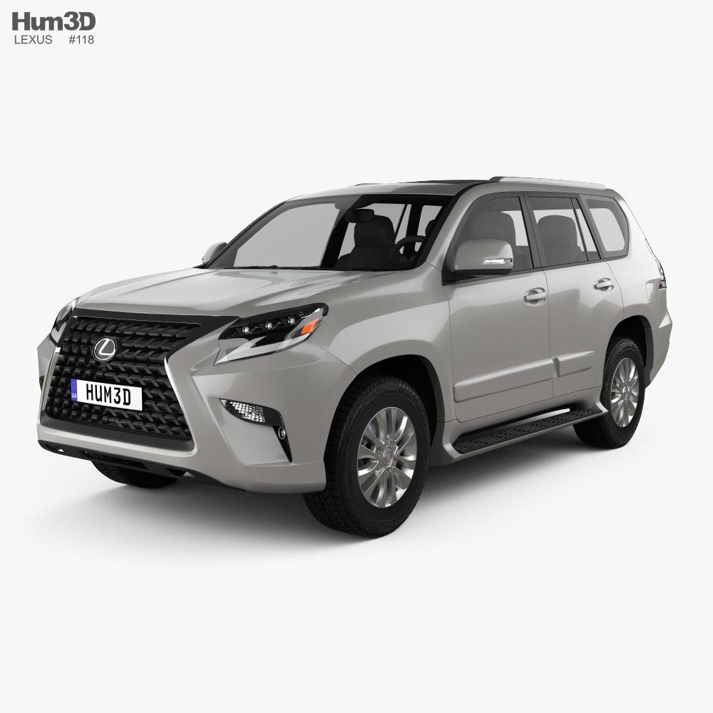 Lexus GX US-spec 2020 3D model