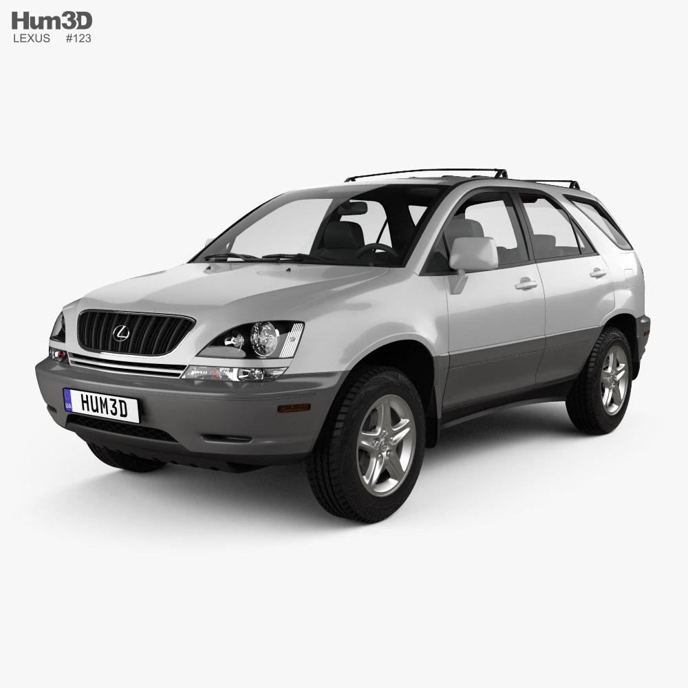Lexus RX 1998 3D model